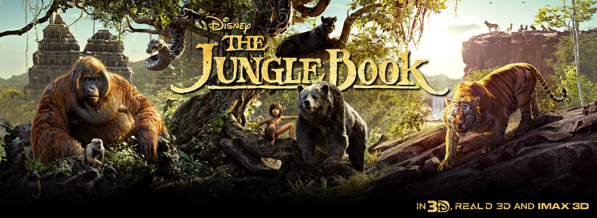 Jungle Book Static In Cinema Flex Hero - SG