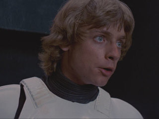 """I'm Luke Skywalker. I'm here to rescue you."""