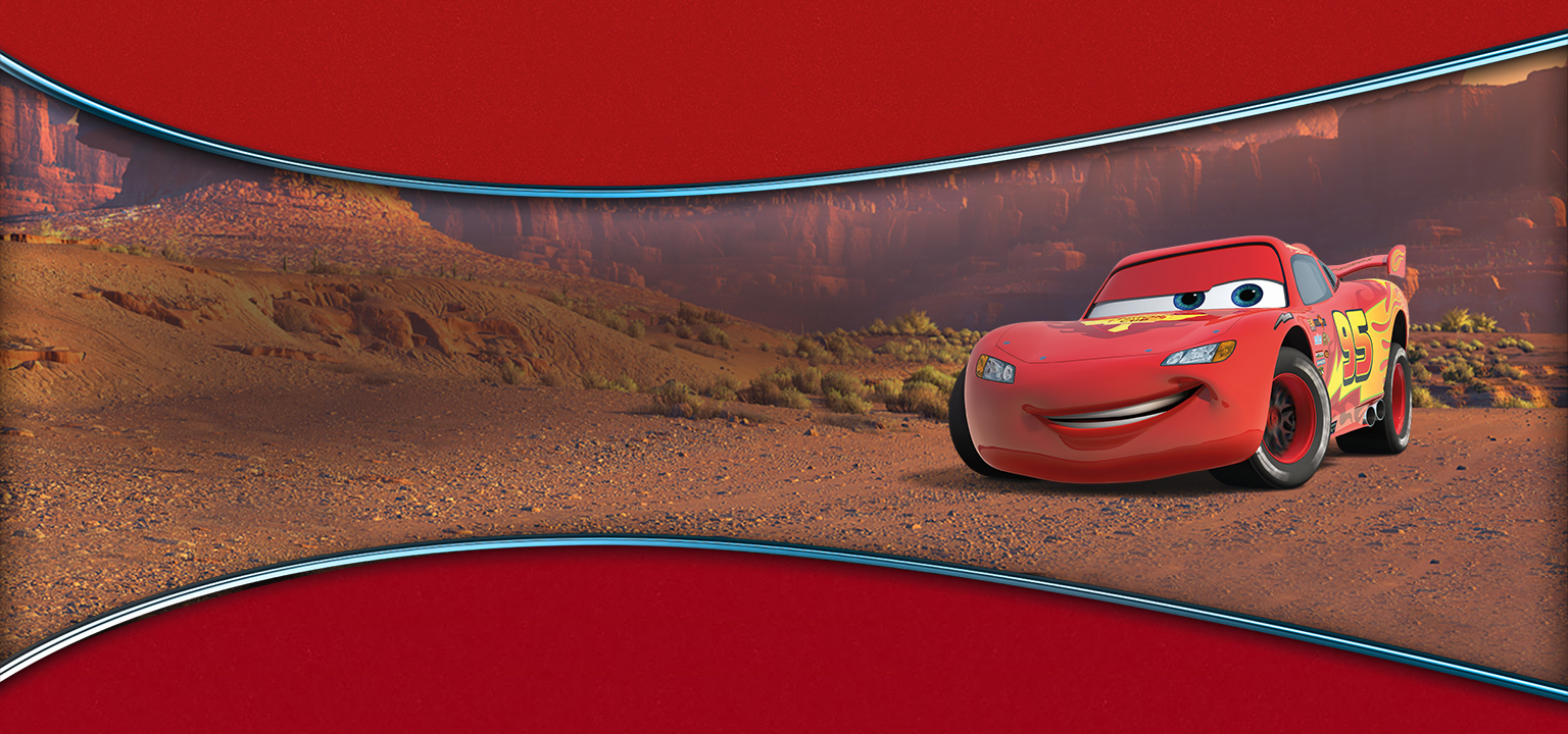 UK- Lightning McQueen Page nav Flex Hero