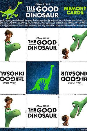 The Good Dinosaur Memory Cards