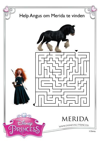 Merida's Doolhof