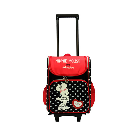 "DRE 1528R Disney Retro Minnie 16"" Eva Trolley School Bag"