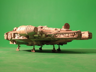 Fully Operational Fandom: An Incredibly Detailed Cardboard Millennium Falcon