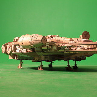 Fully Operational Fandom: An Incredibly Detailed Cardboard Millennium Falcon