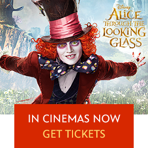 Alice Through the Looking Glass Mini Hero - ID Wide