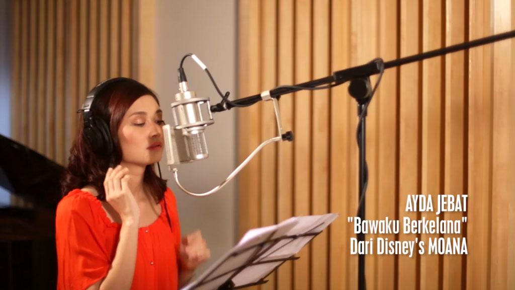 """Bawaku Berkelana"" (""How Far I'll Go"") - Disney Moana Music Video"