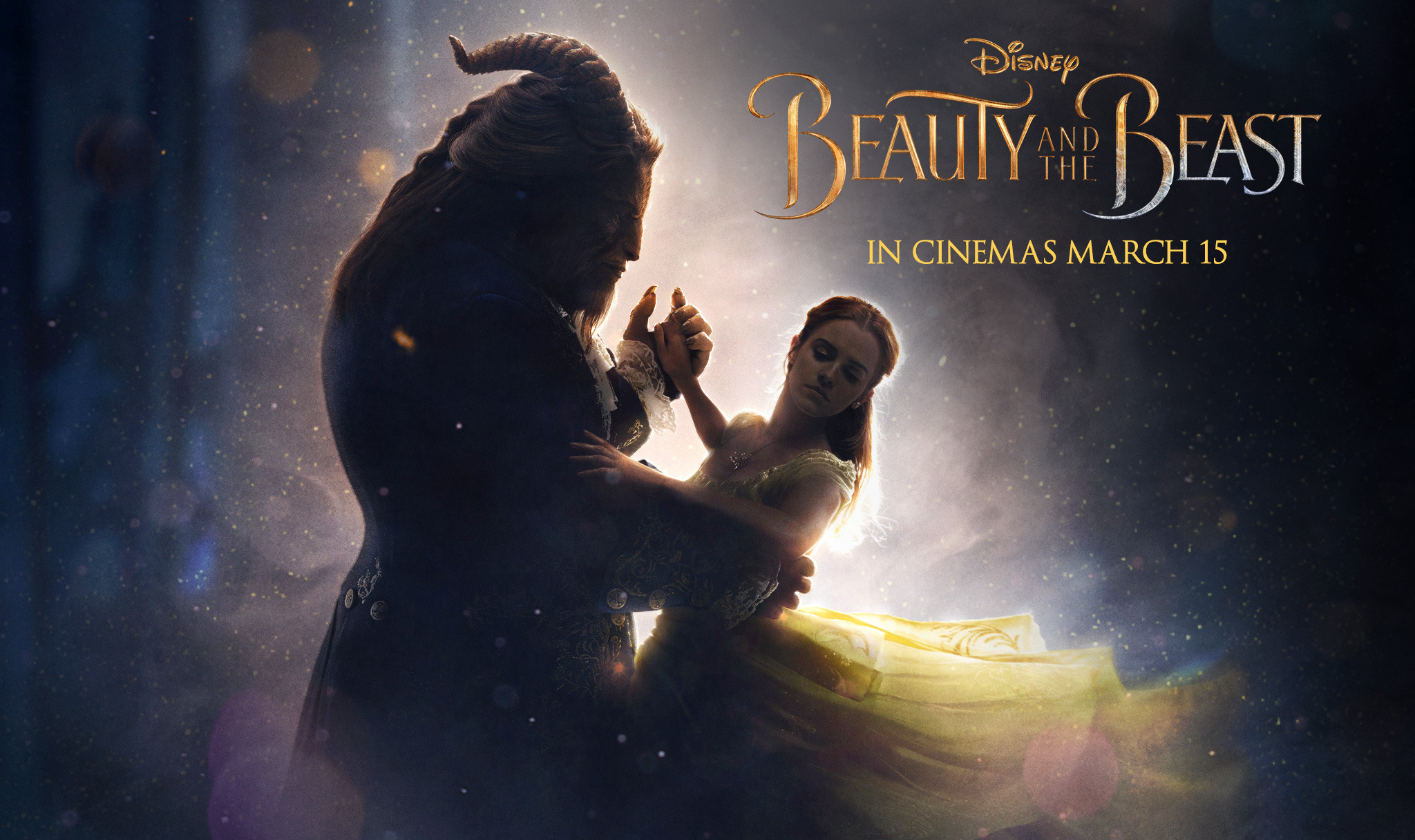 Belle talks to hairbrush in new clip; Emma Watson sings 'Something There'
