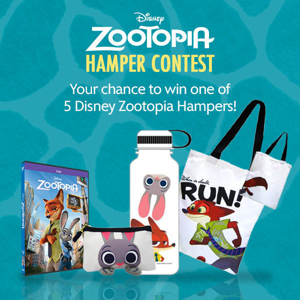 "Zootopia Hamper Contest ""More Disney"" - SG"