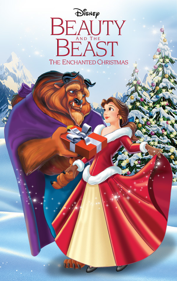 beauty and the beast the enchanted christmas disney movies