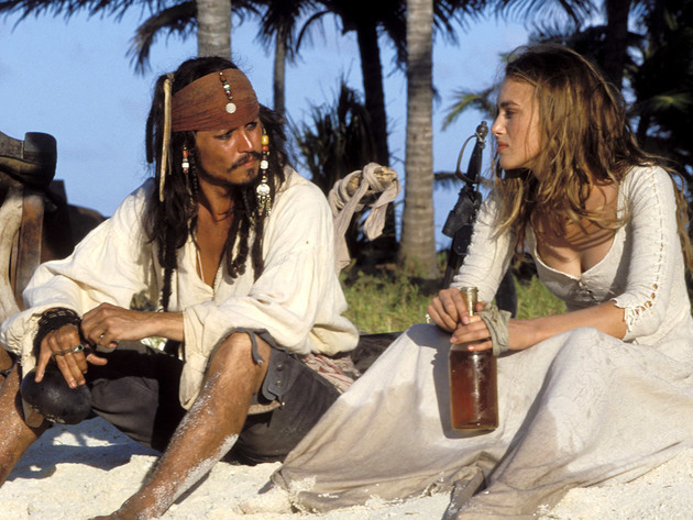 Abandoned on a tiny island, Captain Jack and Elizabeth face an uncertain fate.