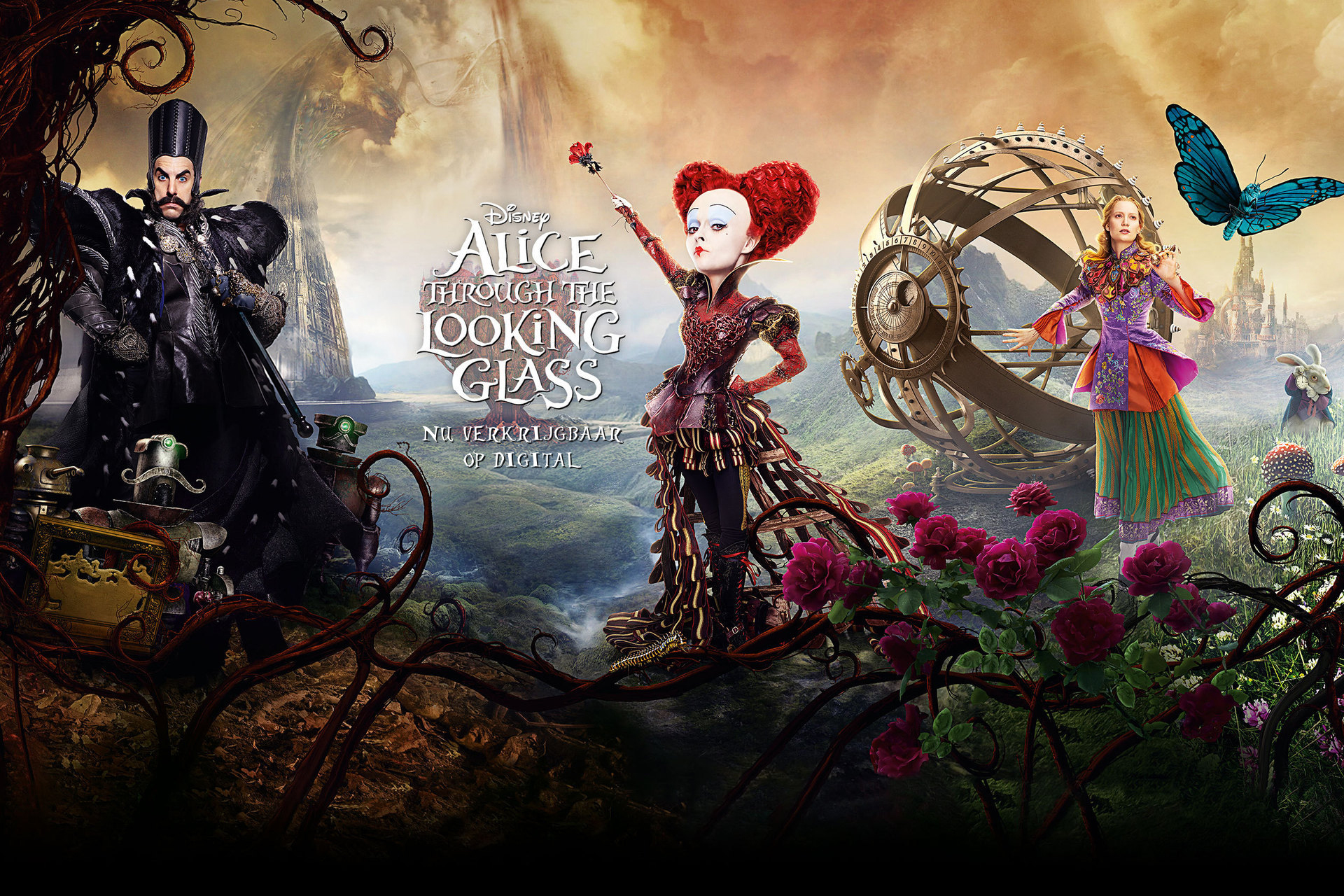 Alice Through the Looking Glass - Local Poster Flex Hero Digital
