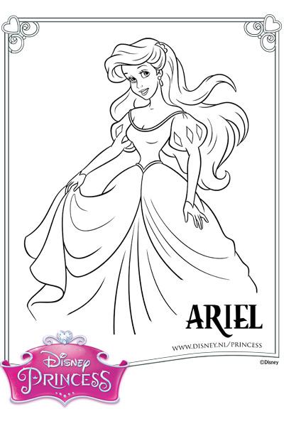 Kleurplaten Van Ariel Zeemeermin.Ariel Kleurplaat