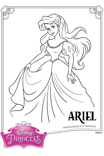 Kleurplaten Van Prinses Sofia Archidev