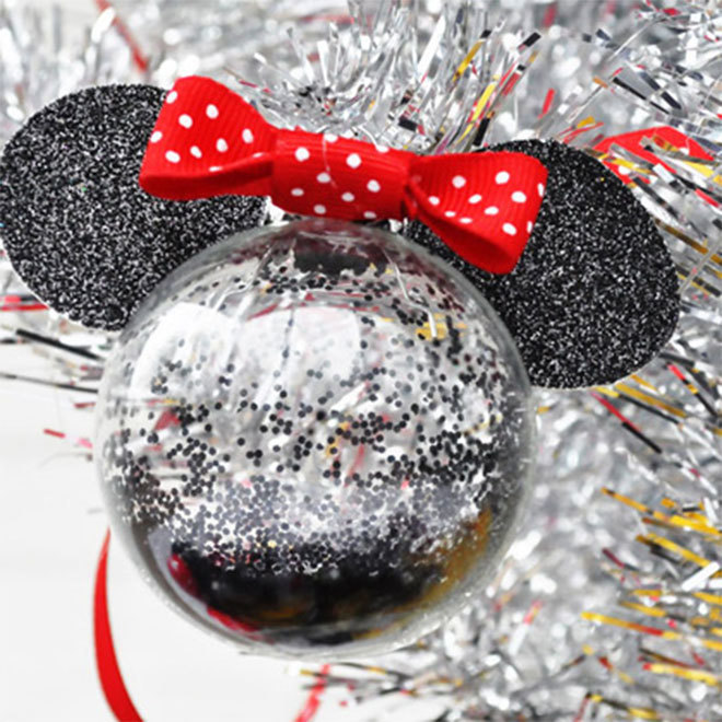Minnie Mouse kerstbal