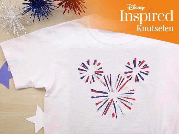 Mickey Mouse vuurwerk T-shirt