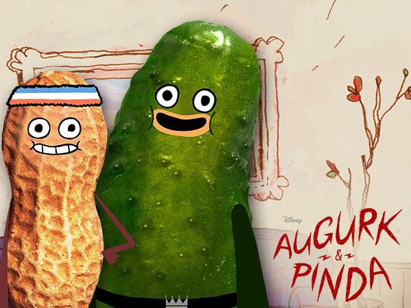 Augurk en Pinda