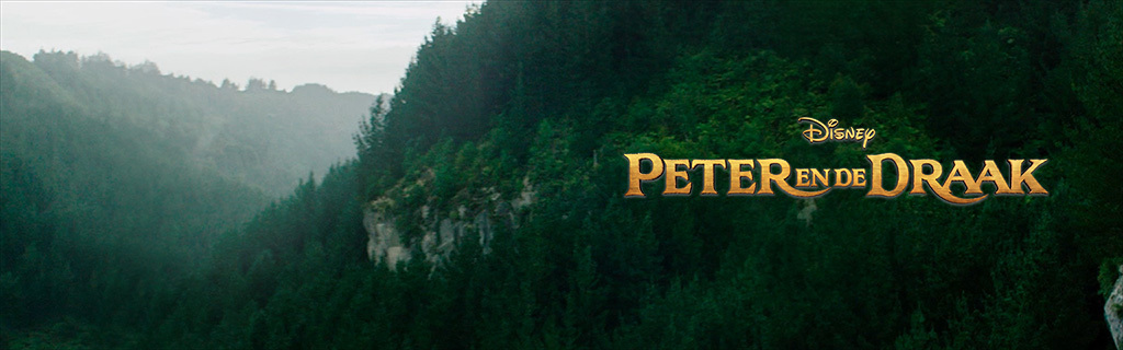 Homepage - Pete's Dragon (Animated Hero)