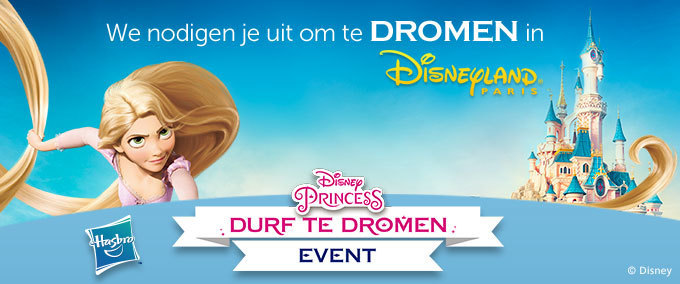 Disney Princess Durf te Dromen