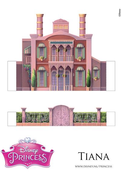Het kasteel van Tiana