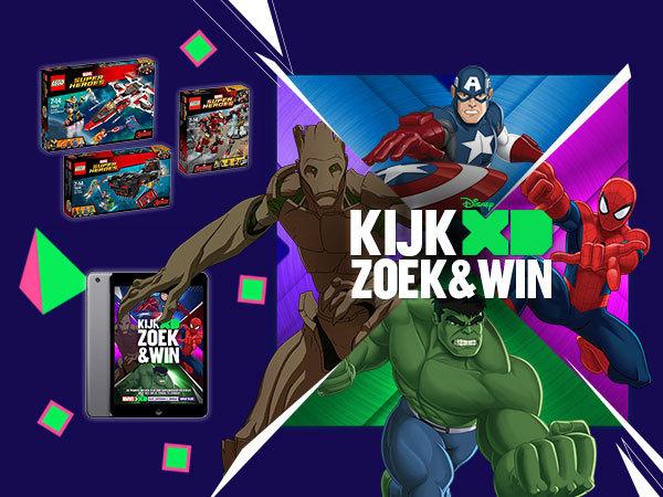 Superheld Zoek en Win
