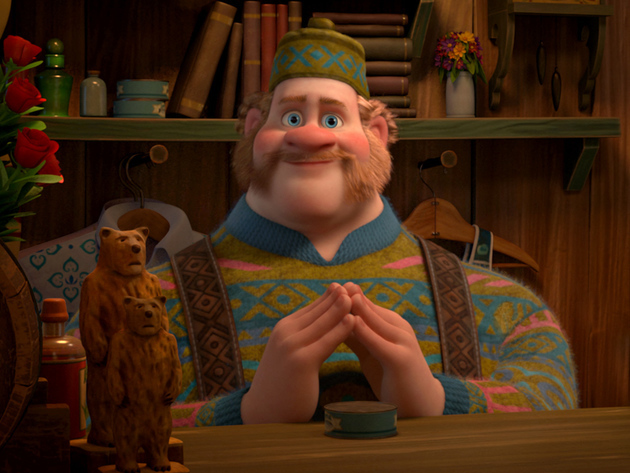 Oaken runs Wandering Oaken's Trading Post and Sauna.