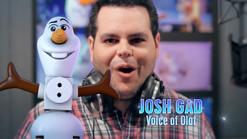 LEGO Frozen Northern Lights | Josh Gad Greeting