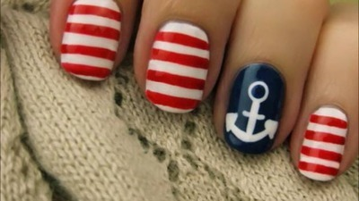 Sail Away With Cute Nails