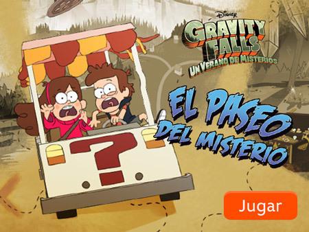 Gravity Falls - El paseo del misterio