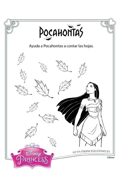 Actividades con Pocahontas