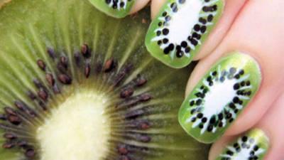 Sweet Kiwi Nail Art