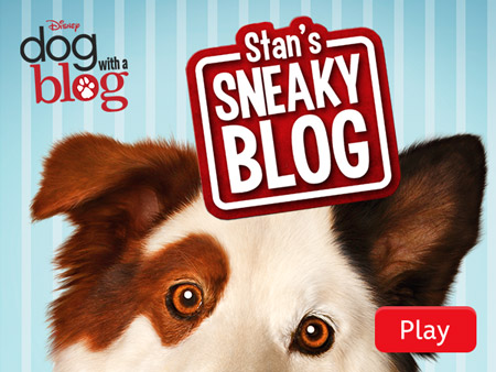 Dog with a Blog: Stan's Sneaky Blog | Disney LOL Games