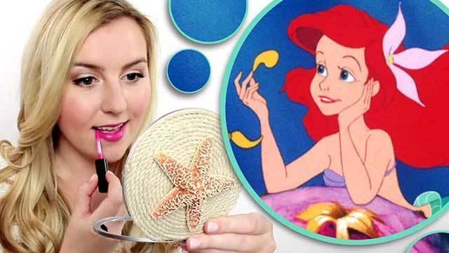 Ariel-Inspired DIY Compact Mirror