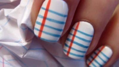 Sassy Back to School Nails