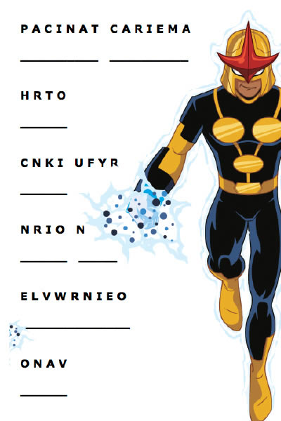 Mots mêlés Ultimate Spider-man