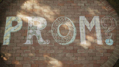 Prom Invitation Montage