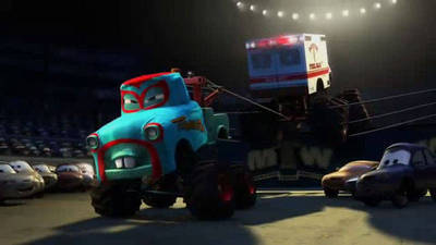 Monster Truck Mater - Cars Toons: Mater's Tall Tales
