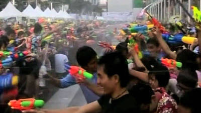 Get Soaked With the World's Biggest Water Fight!