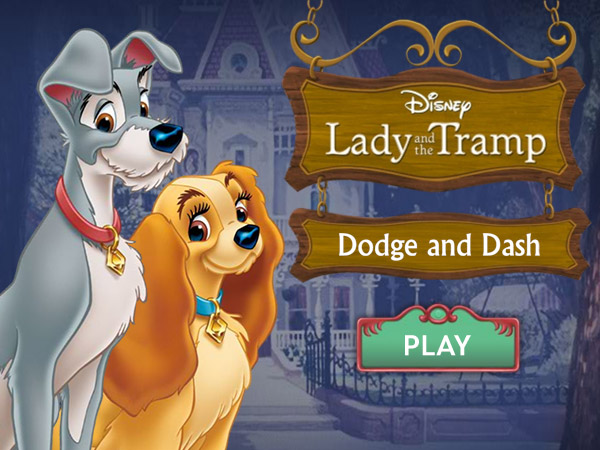 Lady And The Tramp Dodge And Dash - Lady And The Tramp ...
