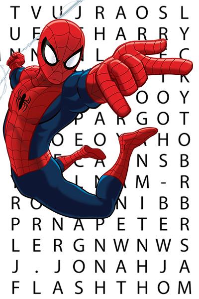 Ultimate Spider-Man: Sopa de letras de los Web Warriors
