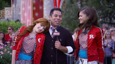 Christmas Parade 2011 with Zendaya and Bella - Take Over with Ernie D.