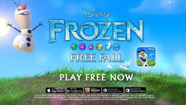 Frozen Free Fall Summer Olaf