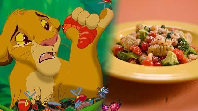 Simba's Slimy Yet Satisfying Grub Gnocchi