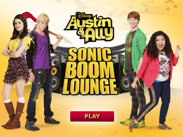 Austin & Ally: Sonic Boom Lounge