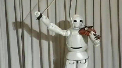 Music to My Ears -- A Robot Plays a Classic on the Violin