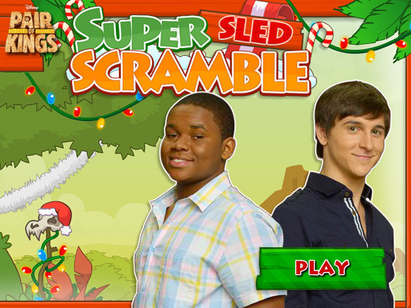 Super Sled Scramble