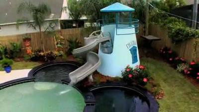 My Yard Goes Disney: Backyard Water Park
