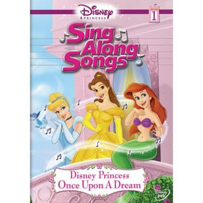 Sing Along Songs: Disney Princesses Once Upon A Dream DVD