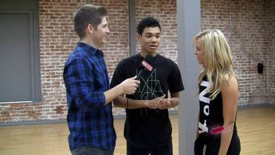 Salsa with Roshon and Chelsie - Celebrity Take with Jake