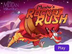 Mulan - Mushu Rocket Rush
