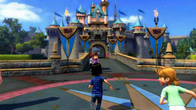 Kinect Disneyland Adventures on Xbox 360
